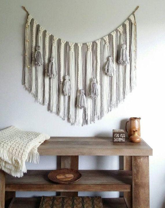 bedroom decoration yarn